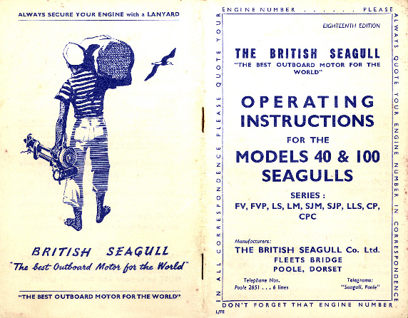 a description of british seagull little forty models and the rh saving old seagulls co uk Outboard Marine Corporation Inboard Motor