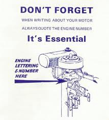 engine number location